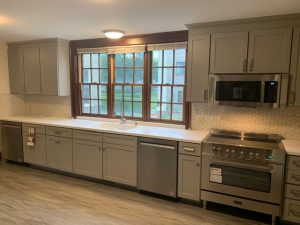 beautiful designer cabinetry and appliances